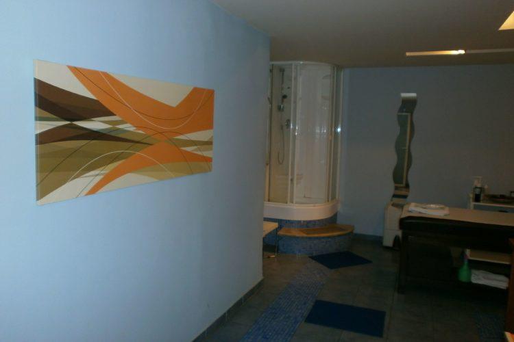 ο χώρος aqua spa στη θεσσαλονίκη